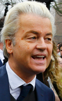 Far right: Geert Wilders Photo: Reuters