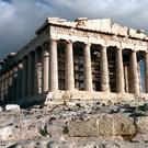 The Parthenon at the Acropolis in Athens