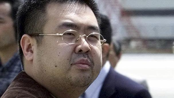Kim Jong Nam died after being approached by two women at a budget air terminal in Kuala Lumpur (AP)