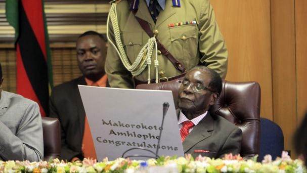 Mugabe has repeated his pledge to stand in elections in 2018. (AP Photo/Tsvangirayi Mukwazhi, File)
