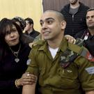 Elor Azaria at a sentencing hearing in the military court in Tel Aviv (AP)