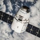 The Dragon spacecraft in orbit (SpaceX)