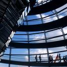 The Reichstag parliament building in Berlin