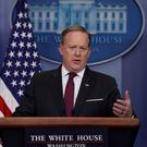 White House Communications Director Sean Spicer. Photo: Jonathan Ernst/Reuters