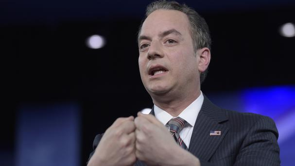 White House chief of staff Reince Priebus wanted the FBI to dispute media reports that Donald Trump's campaign advisers were frequently in touch with Russian intelligence agents during the election campaign (AP)