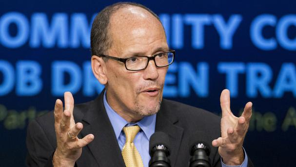 Ex-labor secretary Tom Perez elected DNC chair