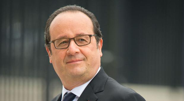 Francois Hollande poked fun at Donald Trump