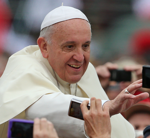 'Pope Francis was reprimanding folks who think of themselves as upstanding Catholics, but don't necessarily lead the lives of decent Christians, contrasting with the honest atheist who does the right thing despite his lack of faith. We've all known examples of each type' Photo: PA News