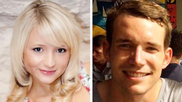 Hannah Witheridge and David Miller were murdered in Thailand (Foreign and Commonwealth Office/PA)
