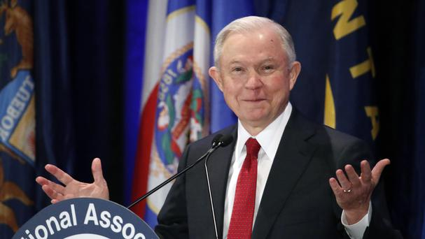 Jeff Sessions was an early supporter of President Donald Trump and a policy adviser to the Republican candidate (AP)