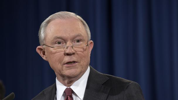 Jeff Sessions was accused of lying under oath (AP)