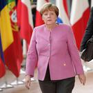 Angela Merkel Photo: AP