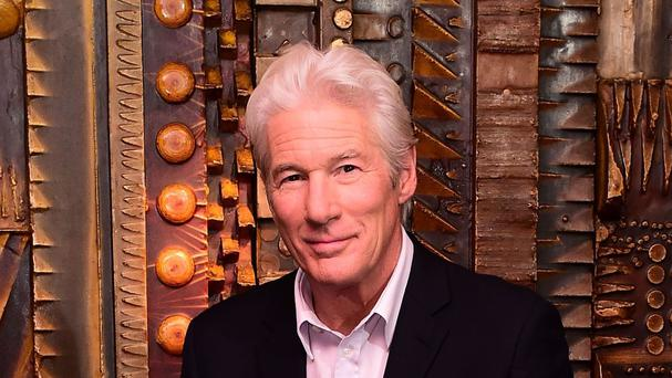 Richard Gere was in Jerusalem for the premiere of a new film