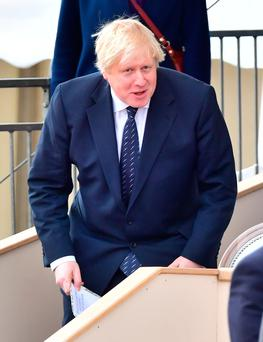 British Foreign Secretary and Brexit campaigner Johnson. Photo: PA