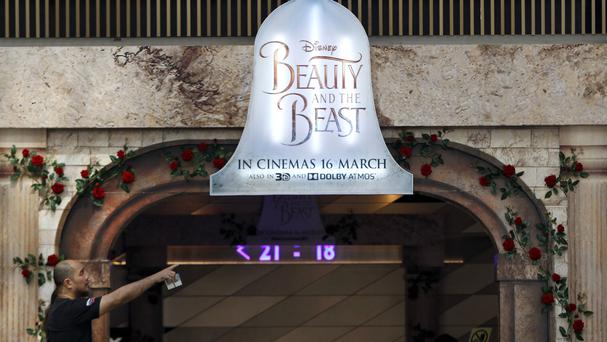 Cinemas in Malaysia will not be able to screen Beauty And The Beast despite Walt Disney setting a release date (AP Photo/Daniel Chan)