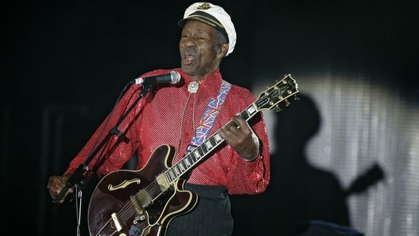 Chuck Berry, pictured in 2009, has died at his Missouri home aged 90 (Lionel Cironneau/AP)