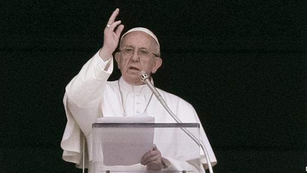 The Pope said he hoped his announcement would help foster reconciliation and peace in Rwanda (AP)