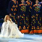 Yulia Samoylova performed during the opening ceremony of the 2014 Paralympic Games in Sochi (AP)
