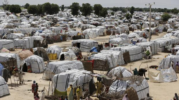 Millions are facing starvation in Nigeria and other countries, the UN said (AP)