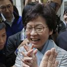 Carrie Lam's victory was no surprise (AP)