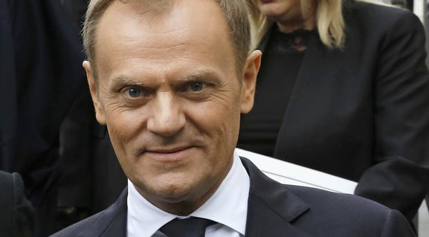 Mr Tusk is viewed as a political foe by Poland's current ruling party