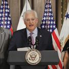 David Friedman in the Eisenhower Executive Office Building in the White House complex (AP)