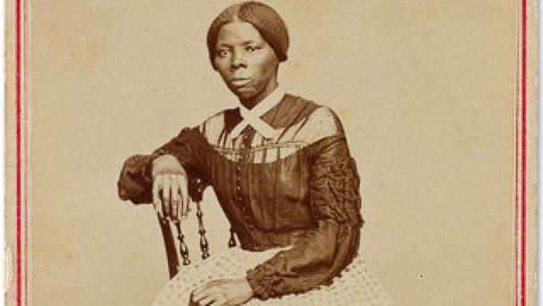 The photograph of 19th century abolitionist Harriet Tubman sold at auction in New York (Courtesy Swann Auction Galleries via AP)
