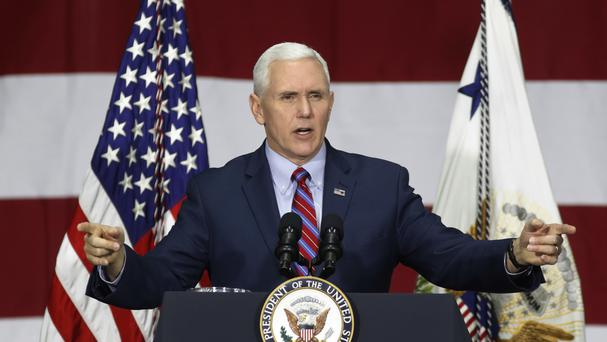 Vice President Mike Pence made the offer in a closed-door meeting with members of the Freedom Caucus (AP)