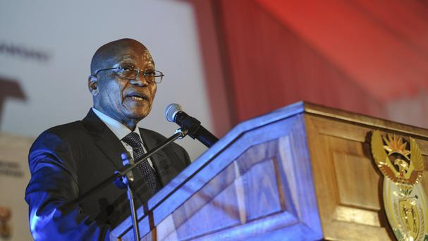 South African President Jacob Zuma acknowledged that public disputes at the top of the government are a