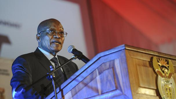 Jacob Zuma became president after elections in 2009 (AP Photo)