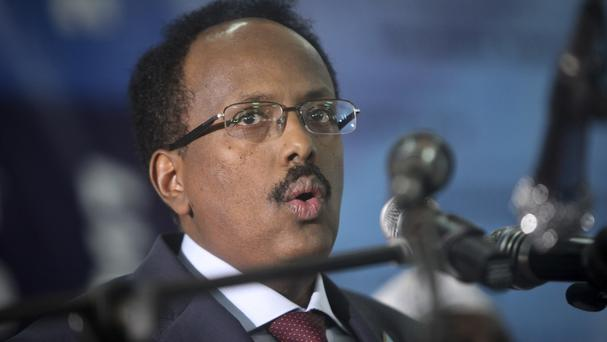 Somalia's president declared the country a war zone (AP/Farah Abdi Warsameh)