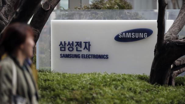 The son of the head of Samsung Electronics has appeared in court in South Korea on bribery charges