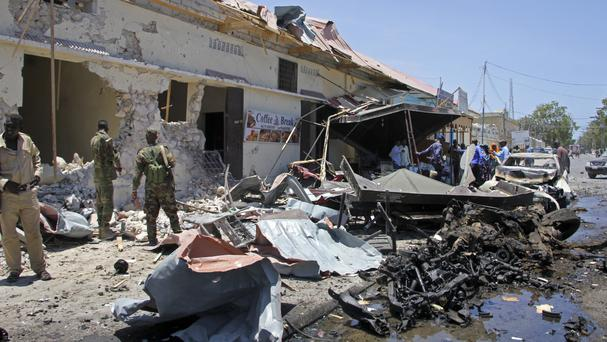 Attacks across the Somali capital have been stepped up in recent weeks (AP/Farah Abdi Warsameh)