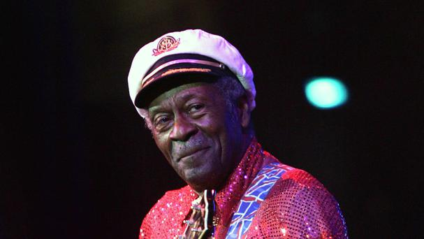 Chuck Berry died on March 18 at the age of 90 (AP)