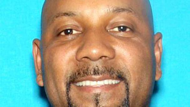 Cedric Anderson, who police identified as the person who shot dead death Karen Elaine Smith, as she taught a special education class (San Bernardino Police Department/AP)