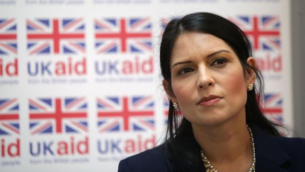 Priti Patel has been visiting South Sudan and described the situation there as abhorrent and inhumane