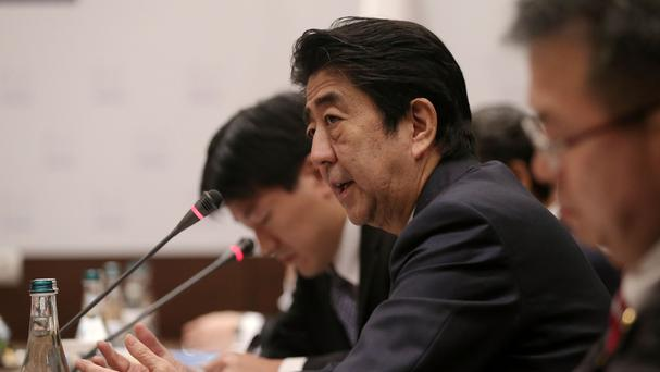 Japanese Prime Minister Shinzo Abe has voiced concerns about North Korea.