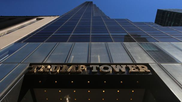 Protesters targeted Trump Tower in New York