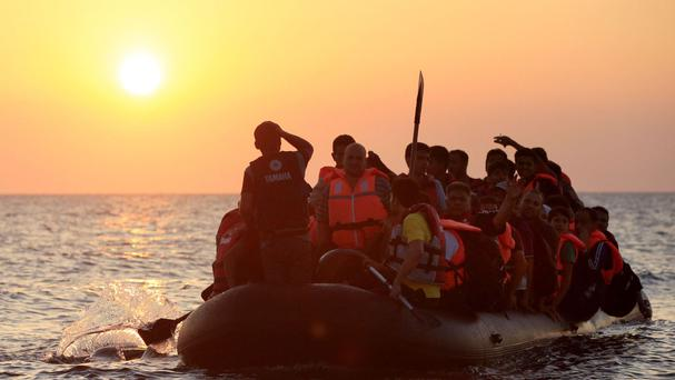 Dozens of people have attempted to reach Europe from Africa by boat