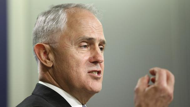 Australian Prime Minister Malcolm Turnbull (AP Photo/Rick Rycroft)