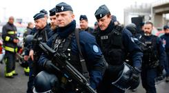 French policemen Photo: Benoit Tessier/Reuters