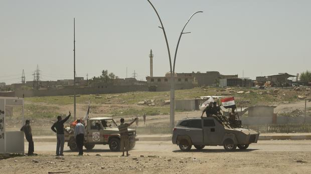 The group have been released into the custody of Iraq's interior ministry (Maya Alleruzzo/AP)