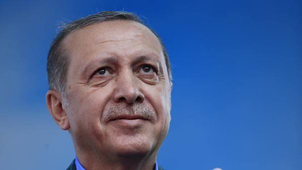 The vote is aimed at giving Turkey's President Recep Tayyip Erdogan extended powers (AP)
