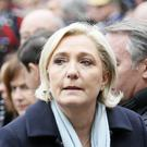 Ms Le Pen was criticised by her father over her presidential campaign so far (AP)