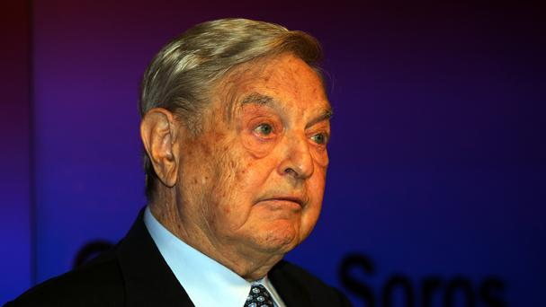 George Soros has backed the university in Hungary.