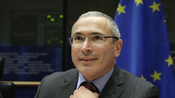 Mikhail Khodorkovsky founded the group (AP)