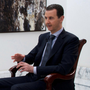 Attacked: President Assad. Photo: Reuters