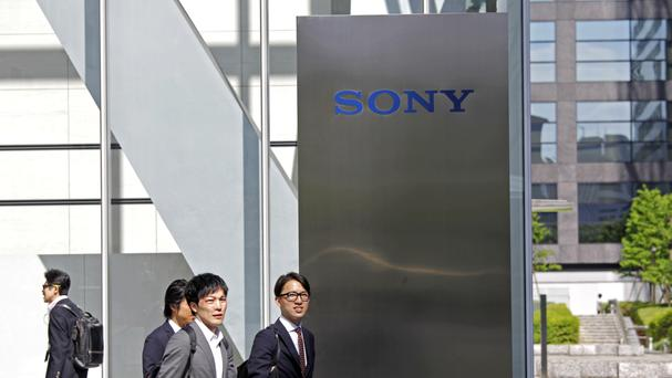 This marks an upturn in fortunes on last year's figures for Sony (AP)