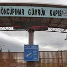 The Turkish border crossing with Syria, on the outskirts of the town of Kilis (AP)