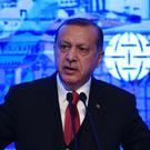Turkey, under Recept Tayyip Erdogan, is under fire (AP)